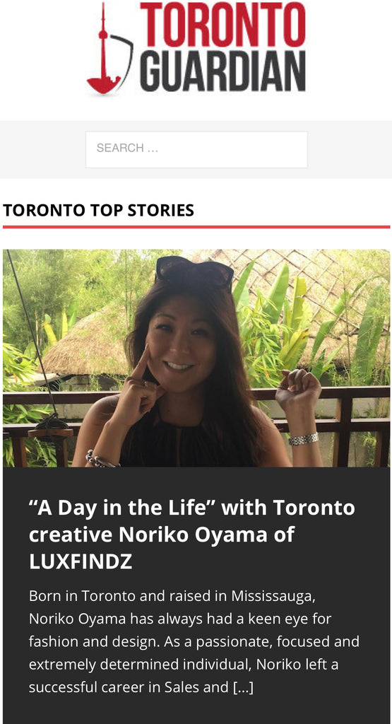 Toronto Guardian's Day in the Life Publication
