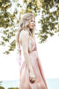 Blush Pink Satin Dress