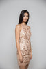 Rose Gold Sequined Dress