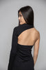 Black One Shoulder Elegant Dress