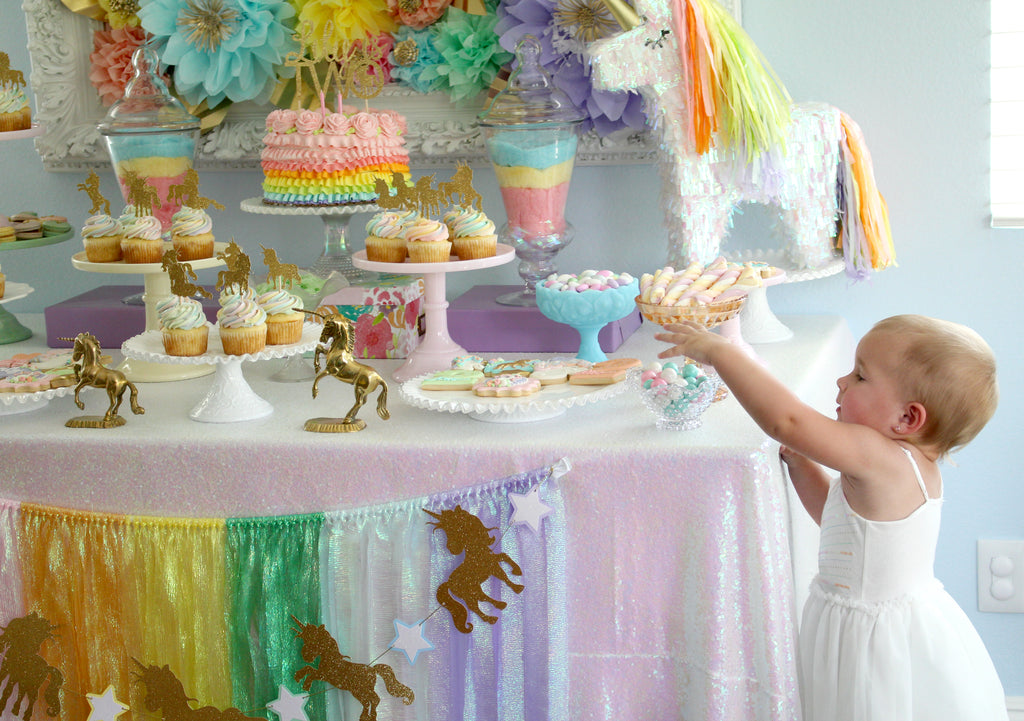 Iridescent Unicorn Birthday Party Ideas