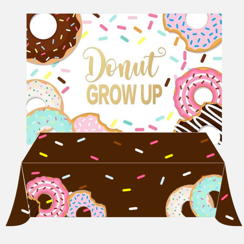 Donut Matching Backdrop (Material: Polyester/Vinyl)