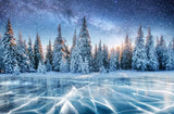 Winter Backdrop (Material: Microfiber)
