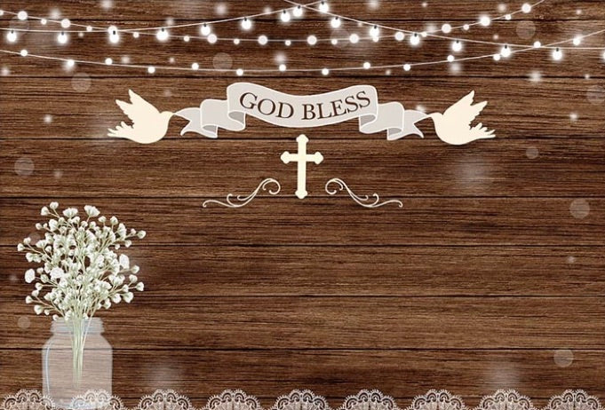 Baptism Backdrop