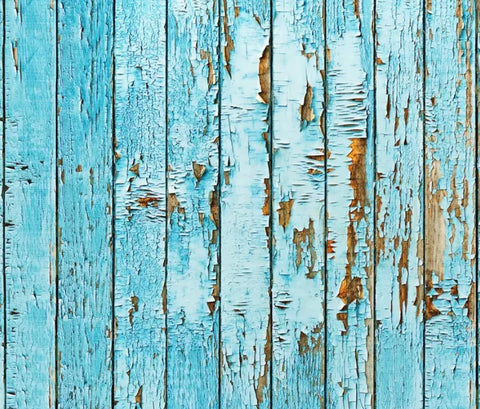 Blue Wood Backdrop (Material: Microfiber)