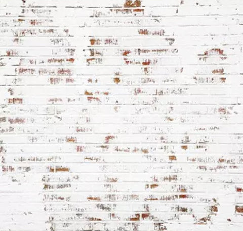 White Brick Backdrop (Material: Microfiber)