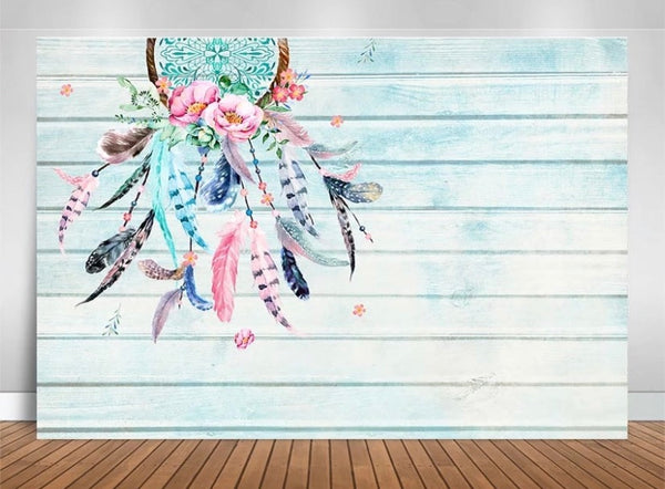 Boho / Shabby Chic Backdrop