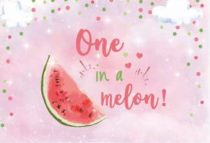 Watermelon ONE Backdrop
