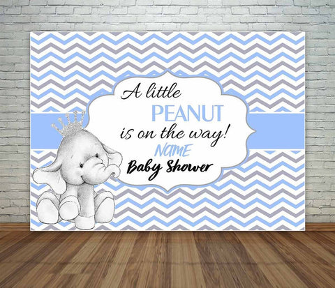 Baby Elephant Backdrop