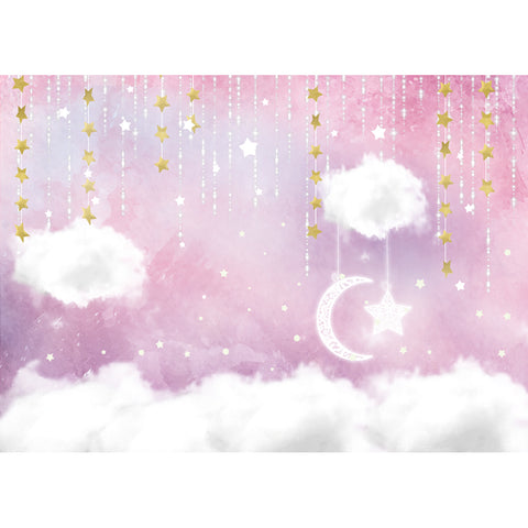 Twinkle Little Stars Backdrop