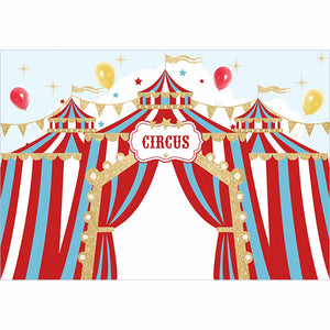 RedGold Circus Backdrop