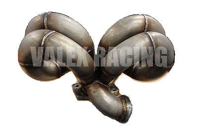 PLM Ram Horn T3 Turbo Manifold 44mm VB AC/PS Compatible Honda Acura B16 B18 B20