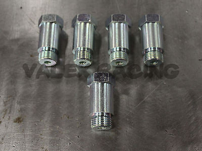 Straight o2 Spacer Oxygen Sensor Extension M18x1.5 CEL Fix 5 PACK