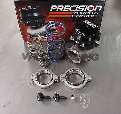Precision Turbo Wastegate 46mm Black PW46 PT#PBO085-2000