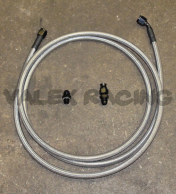 96-01 Acura Integra Replacement Stainless Steel -6 Fuel Feed Line Tank to Filter