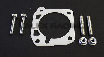 Honda Acura Thermal Throttle Body Gasket & Hardware Kit D/B Series OEM Size 62mm