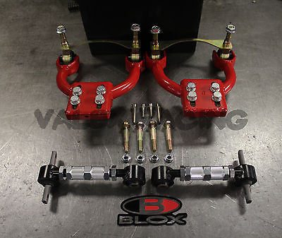 VMS Pro FRONT & Blox REAR Camber Kit Combo 92-95 Civic 94-01 Integra EG DC2