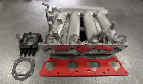 Honda RBC Pre-Modified Intake Manifold with Skunk2 B to K Throttle Body Adapter