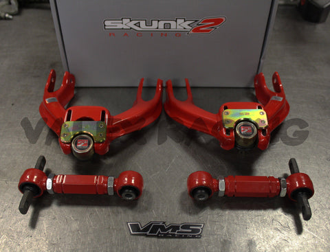 Skunk2 Pro Series FRONT & VMS REAR Camber Kit Combo 90-93 Acura Integra DA