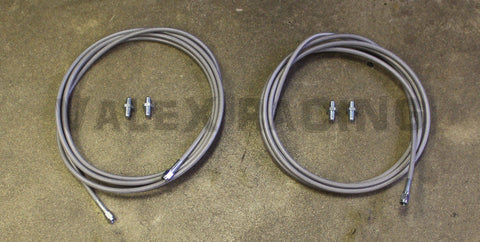 Stainless Main Rear Brake Line Replacement Kit 96-00 Honda Civic EK
