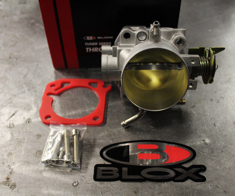 Blox Tuner Series Throttle Body 66mm & Thermal Gasket Honda Acura B D H F Series