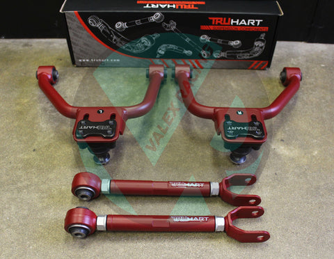 Truhart Adjustable Front & Rear Camber Kit 03-08 Nissan 350Z /03-07 Infiniti G35