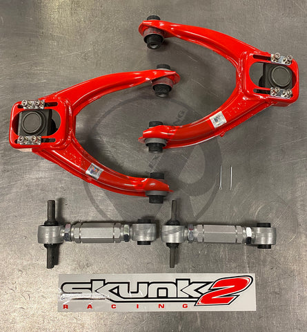 Skunk2 Tuner FRONT & Rev REAR Camber Kit Combo HONDA CIVIC 96-00 EK