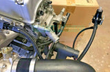 K Series / K Swap 6AN Wrinkle Black Fuel System / Rail for Honda Civic Integra EG EK DC