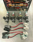 SouthBay 2200cc Fuel Injectors Set Bosch EV14 For Mitsubishi Evolution 7/ 8 / 9 DSM