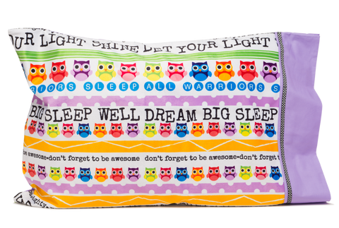 Rise and Shine Autograph Pillowcase