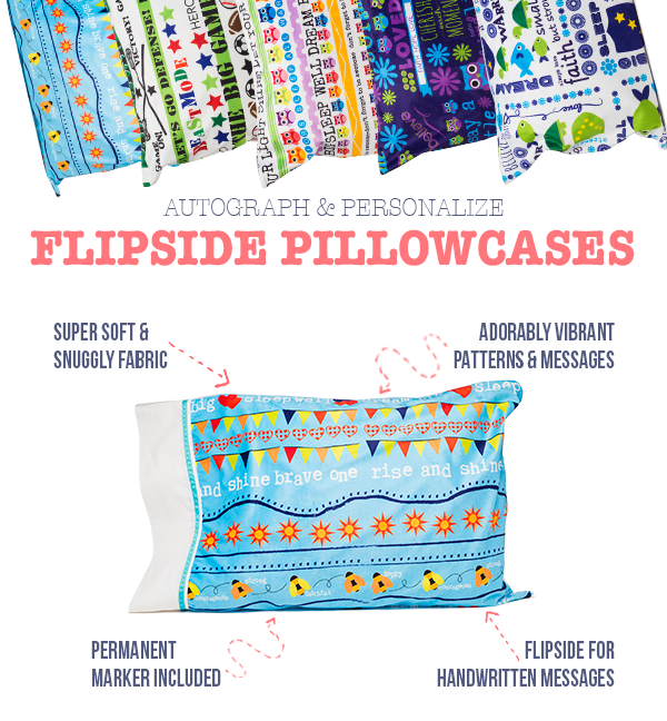 Flipside Pillowcases for Kids
