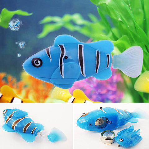 Electronic Robofish Activated Battery Powered Robo Fish