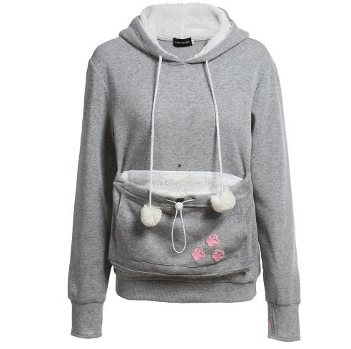 Cat Hoodie Sweatshirts With Cuddle Pouch