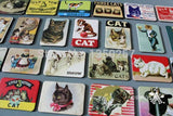 24 PCS Cat Cartoon Magnets