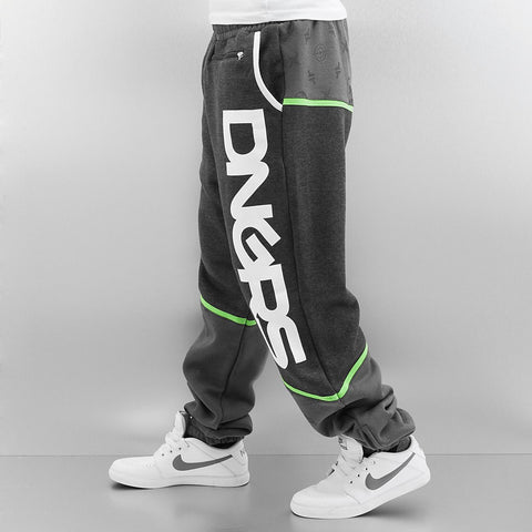 Dangerous DNGRS / Sweat Pant Crosshair in grey