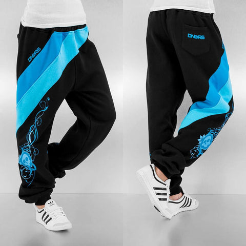 Dangerous DNGRS / Sweat Pant Skull in black
