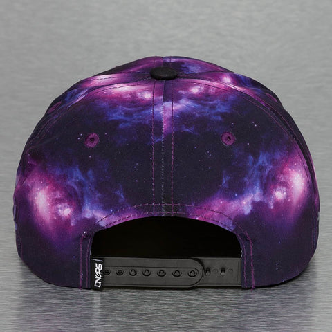 Dangerous DNGRS / Snapback Cap Galaxy Fly High in purple