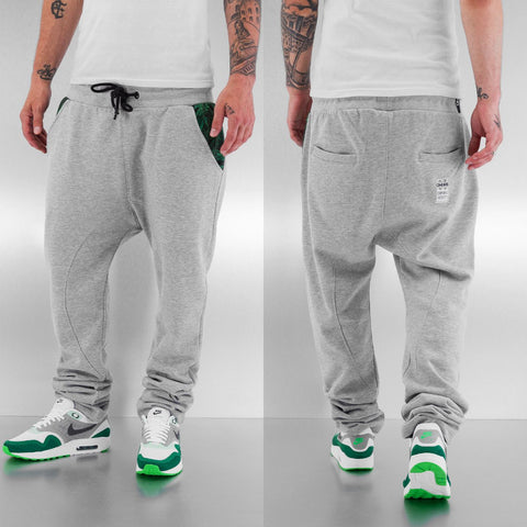 Dangerous DNGRS / Sweat Pant Weed in grey