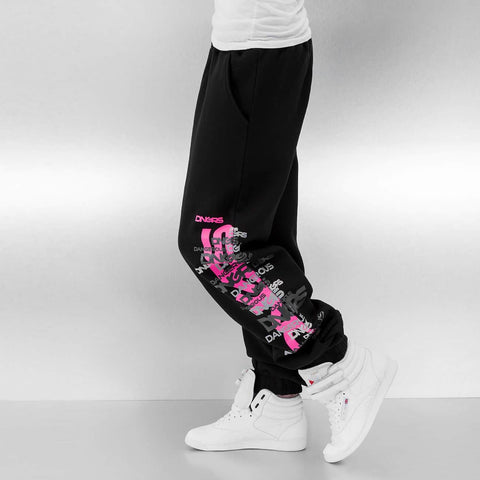 Dangerous DNGRS / Sweat Pant Logo in black