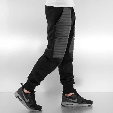 Just Rhyse / Sweat Pant PU in black