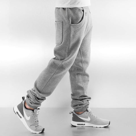 Just Rhyse / Sweat Pant Rasco Zip in grey