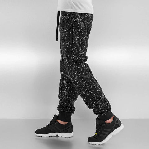 Just Rhyse / Sweat Pant Dots in black