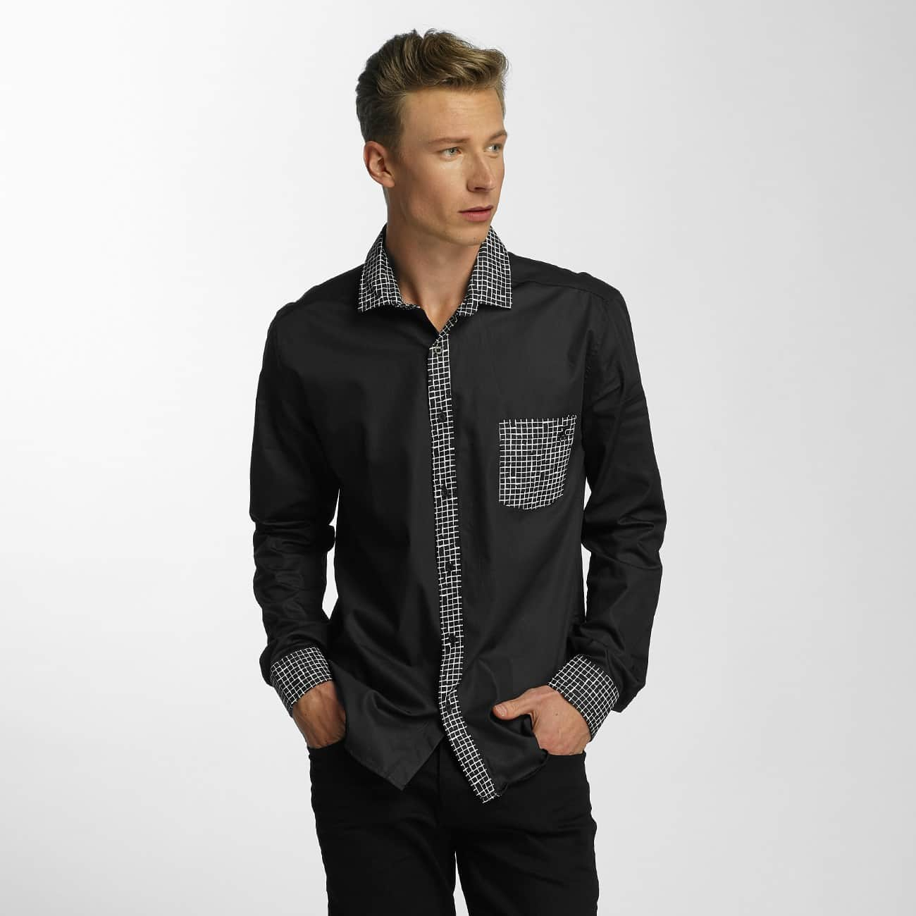 Cazzy Clang / Shirt Plaid in black - Streetscenter
