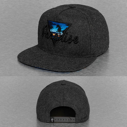 Just Rhyse / Snapback Cap Paradise in gray