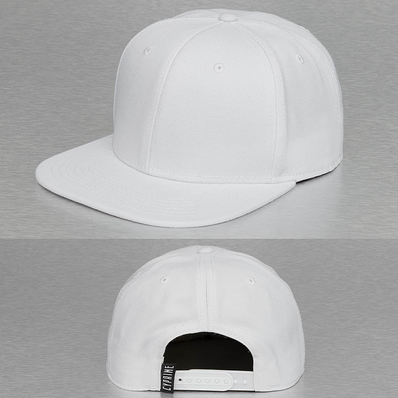Cyprime / Snapback Cap Basic in white - Streetscenter