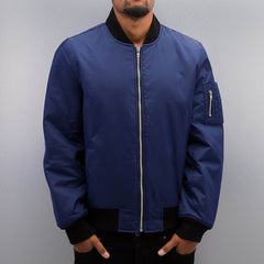 Dangerous DNGRS / Bomber jacket Classic in blue - Streetscenter