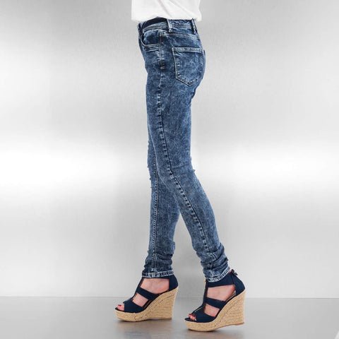 Just Rhyse / High Waisted Jeans High Waist in blue