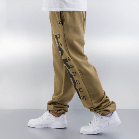 Dangerous DNGRS / Sweat Pant Classic in olive