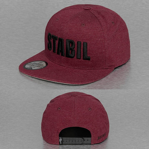 Just Rhyse / Snapback Cap Stabil in red