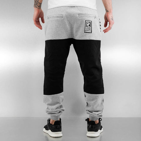 Dangerous DNGRS / Sweat Pant Race City II in grey